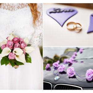 dekoracje ślubne fotografia